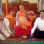 Gaurav Tekriwal with Shankaracharya
