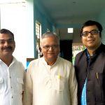 Gaurav Tekriwal with Atul Kothari