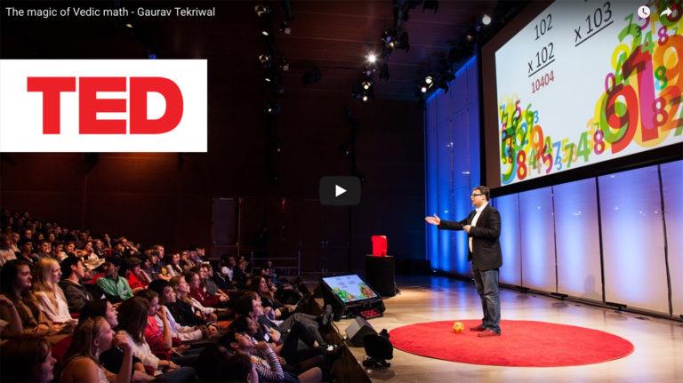 Gaurav Tekriwal in Ted Talk New York