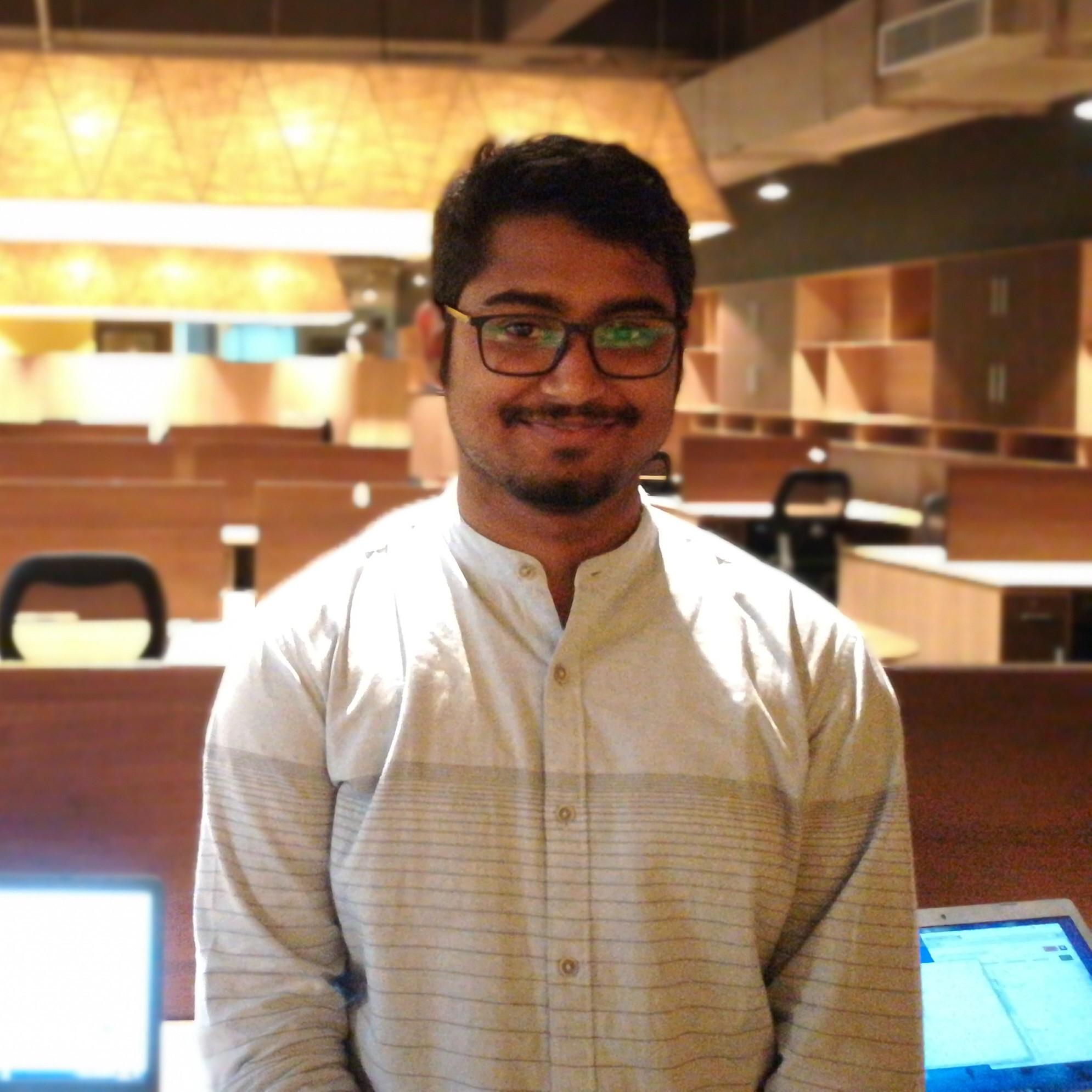 Supratim Mukherjee, Platform Data Specialist, Vedic Maths Forum India
